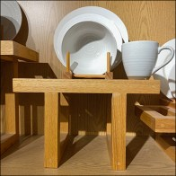 Kohl's Shelf-Top Dinnerware Trestle Display