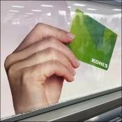 Kohl's Dual J-Hook Gift-Card Display