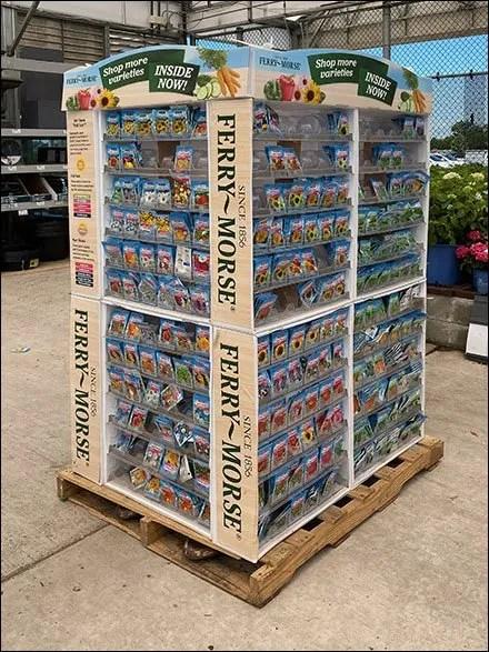 Ferry-Morse Seed Merchandising Display