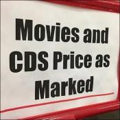 Movies-U-Buy Priced As Marked