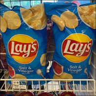 Lays Potato-Chip Open-Wire Mobile Rack