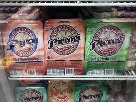 Polish Home-Style Pierogi Merchandising