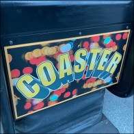 Coin-Operated Kiddie Rollercoaster Ride
