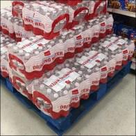 Purified Drinking Water Pallet Merchandising