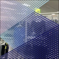 Rainbow Refraction Grid Backdrop