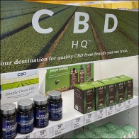 Vitamin-Shoppe CBD Headquarters Endcap