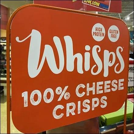 Whisps Cheese-Crisps Custom Rack