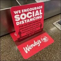 Eating-Utensil Social Distancing Advisory