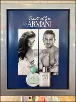 Armani Scent-of-the-Sea Island Display