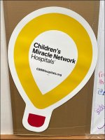 Children's-Miracle-Hospitals Paper Inflatables