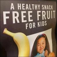 Free Fruit Healthy Snack Bulk Bin