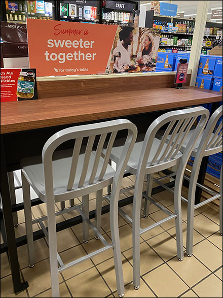 Sweeter-Together Dining Counter In-StoreSweeter-Together Dining Counter In-Store