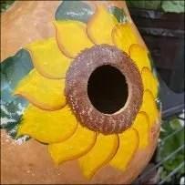Farm-Store Decorative Gourd Birdhouse