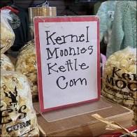 Kernel-Moonies Kettle-Corn Hand-Lettered Sign