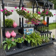 Hillside Floral Bench Dunnage Rack Display Revisited Feature