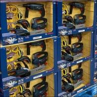 Bosch Toy Powertool Display Pallet