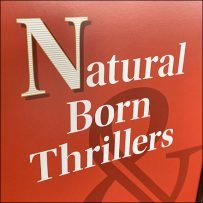 Natural-Born-Thrillers Table-Top Sign