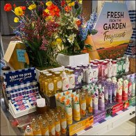 Fresh-From-the-Garden Fragrances Display