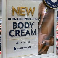 Ultimate Hydration Body Cream Display