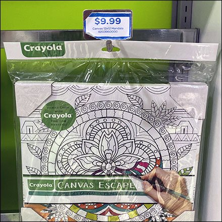 Crayola Create-Your-Style In-Line Display