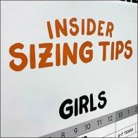 DSW Kids Shoe Insider Sizing Tips