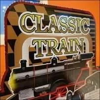 Shelf-Top Classic Train Display