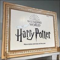 H&M Harry-Potter Toddler Apparel Display
