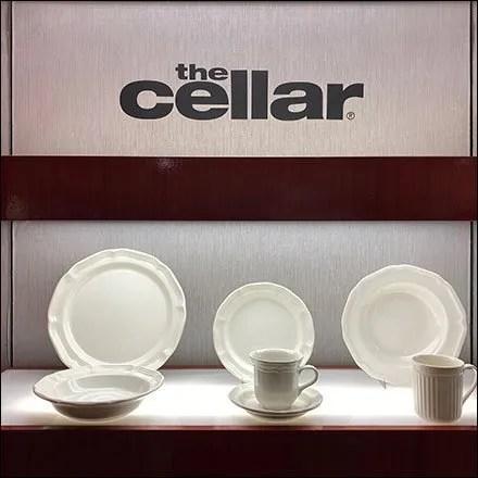 Macy's The Cellar Tablesettings Wall Display Main3