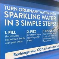 Sodastream Sparkling Water Inline Display