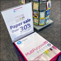 Stacked Paper Tower Sale at FedEx
