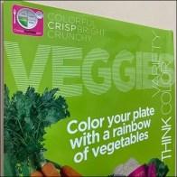 Children's Crisp Veggie Poster