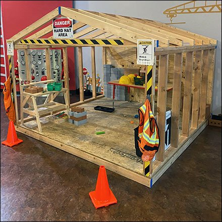 Playland Building Construction Zone