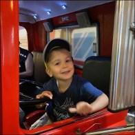Playland Mack Fire Truck Cab