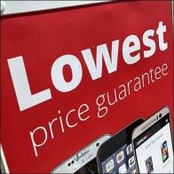 Lowest-Price Smartphone Sidewalk Sign