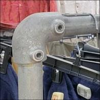 Macy's Mobile Pipe-Fitting Hangrail Shelf Sidecar Square3