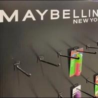 Maybelline Corrugated Cosmetics Display Hook