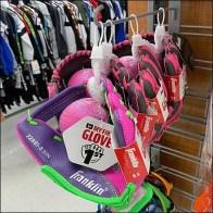 Girls First Baseball Glove J-Hook