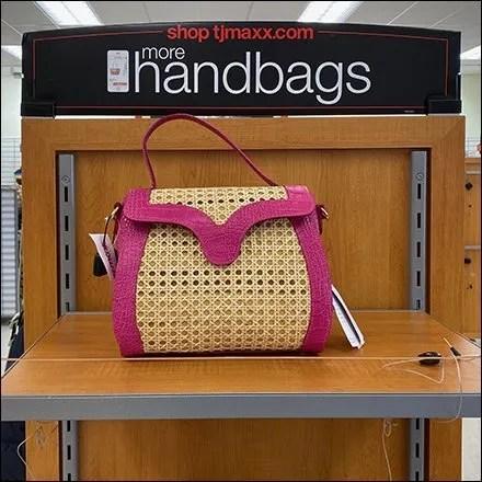 TJMaxx More Handbags Endcap Display