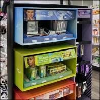 Multi-Line Colorful Elf Cosmetics Endcap
