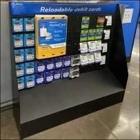 Reloadable Debit-Card Half-Height Display
