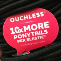 Ouch-less Hair Band Merchandising