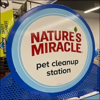 In-Store Nature's-Miracle Pet Cleanup Station