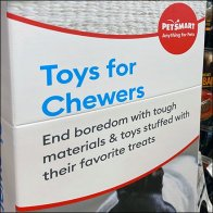 PetSmart Chewers Toy Category Definition