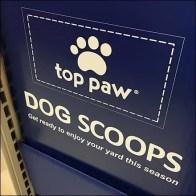 Top-Paw Dog Scoop Endcap Display