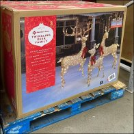 High-Visibility Holiday Twinkling Deer