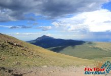 Cuchara Recreation Area Trinchera Peak Trail Top View South Peak