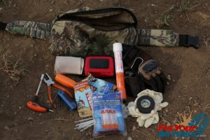 everything for the trail pack