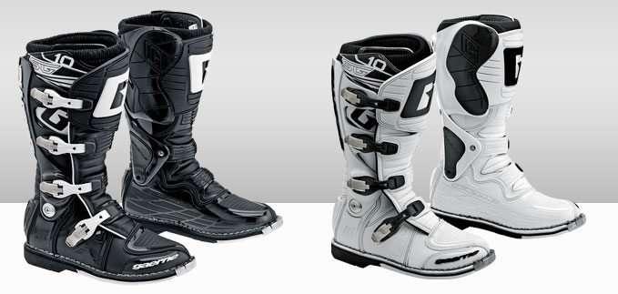 Gaerne SG-10 Motocross Boot White and Black
