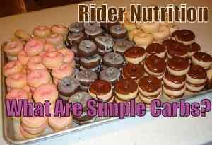 Rider Nutrition: What are simple carbs