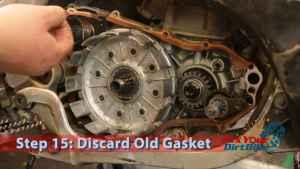 Step 15: Discard Old Gasket